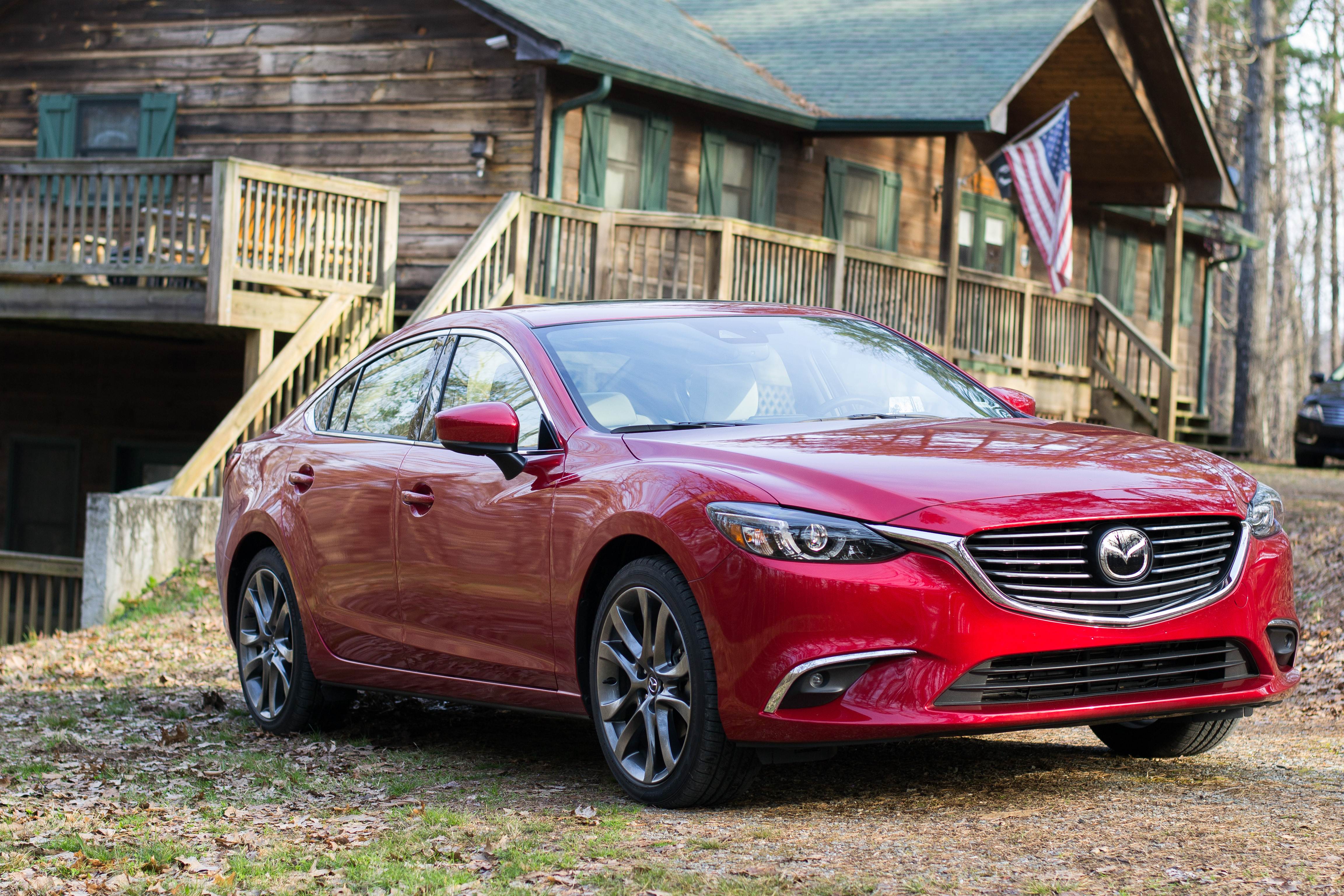 Friend's Weekend Getaway in the North Georgia Mountains with Mazda6